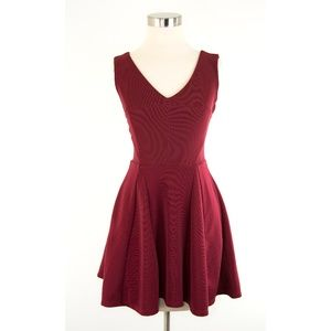 Forever 21 Burgundy Red Mini Dress S